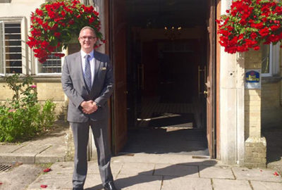 Nathan Chart Vice Chair of Southampton Hoteliers Association