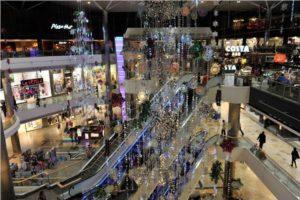 Christmas shopping in Southampton