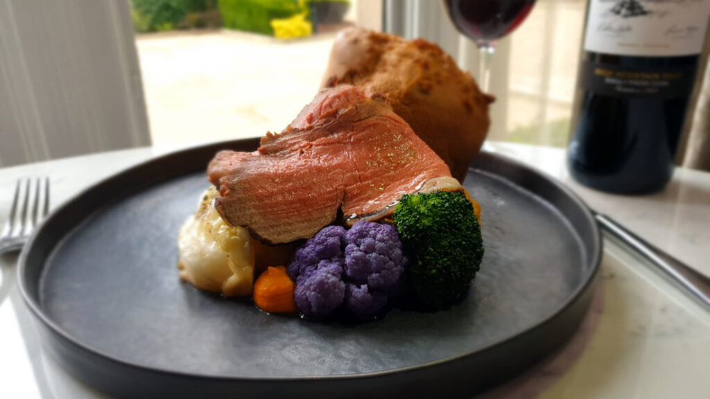 Sunday Roast take-away from Rhinefield House
