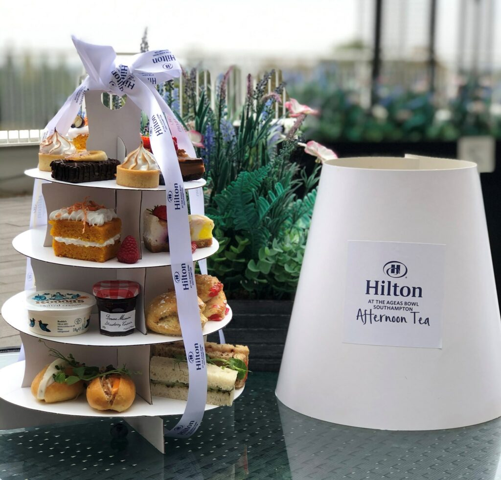 Take-away Afternoon Tea from Hilton at the Ageas Bowl